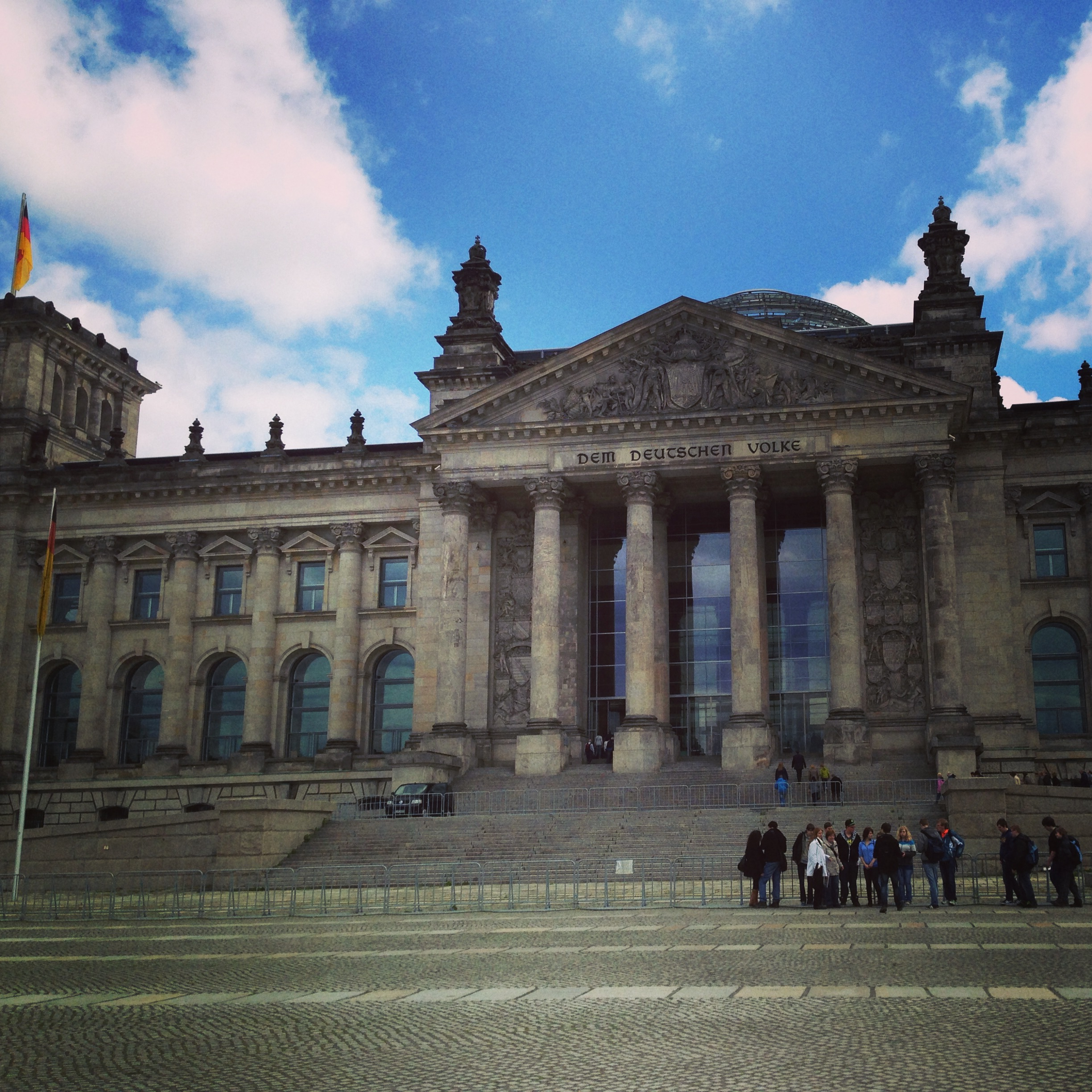 The Reichstag building - Nicole Canning