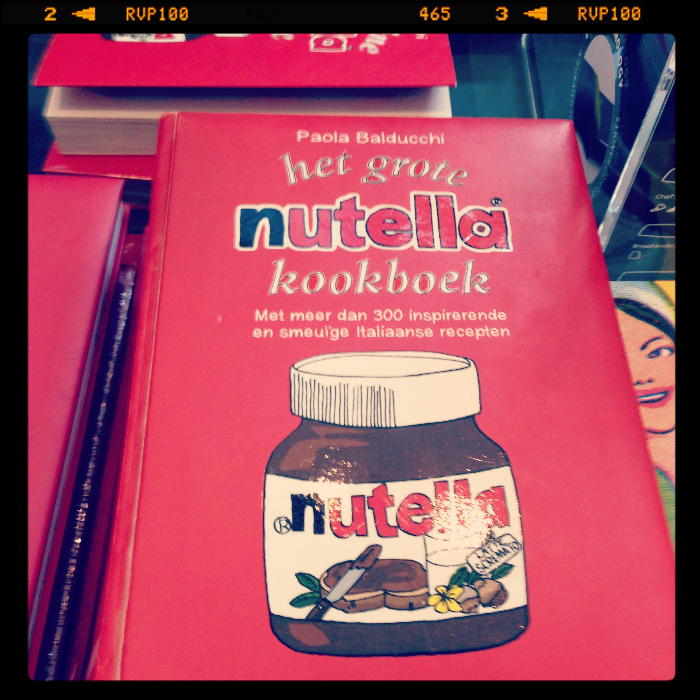 Nutella Recipes and cookery book