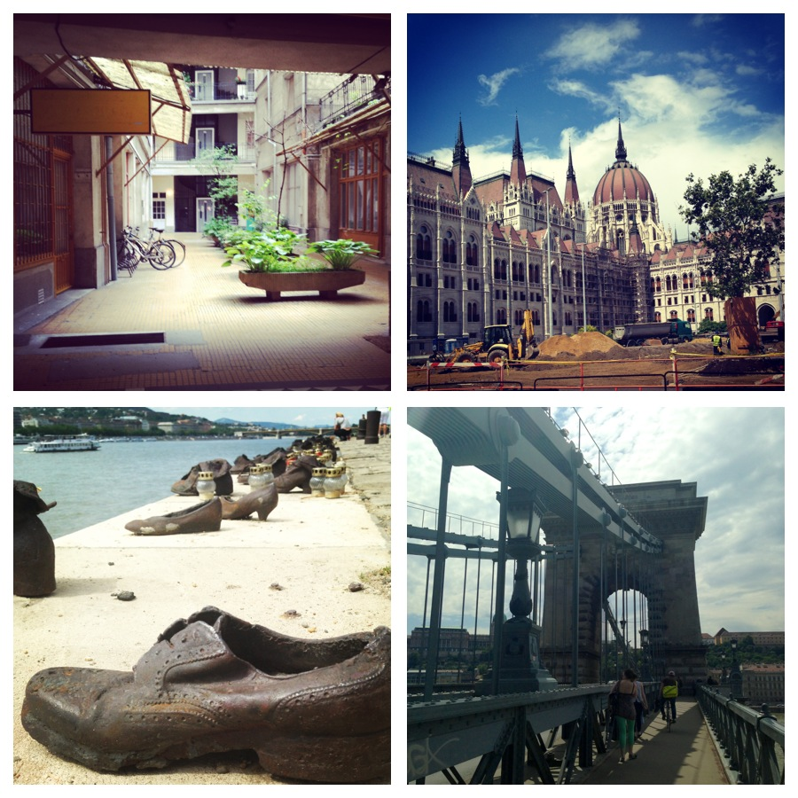 Budapest: The Parliament Building, Shoes on the Danube and the Chain Bridge. - Nicole Canning